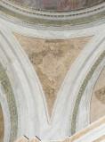 Ademollo L. sec. XIX, Dipinto murale con angelo alato