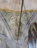 Ademollo L. sec. XIX, Dipinto murale con angelo alato 2/4