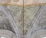 Ademollo L. sec. XIX, Dipinto murale con angelo alato 3/4
