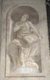 Ademollo L. sec. XIX, Affresco monocromo di San Marco Evangelista