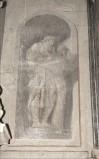 Ademollo L. sec. XIX, Affresco monocromo di San Matteo Evangelista