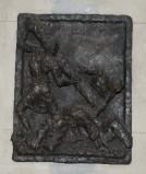 Ambito toscano (1969), Rilievo di Gesù che cade la seconda volta