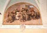 Ademollo L. (1833), Dipinto di Commiato di San Francesco dai suoi frati