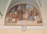 Ademollo L. (1833), Dipinto di San Francesco che predica davanti al sultano