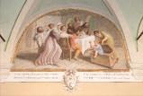 Ademollo L. (1833), Dipinto di San Francesco allontana la morte da un neonato