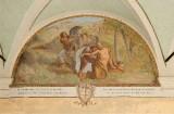 Ademollo L. (1833), Dipinto murale di San Francesco e il lebbroso