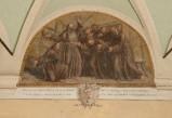 Ademollo L. (1833), Dipinto murale di San Francesco nell'ostello di Rivo Torto