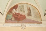 Ademollo L. (1833), Dipinto murale di San Francesco e papa Innocenzo III