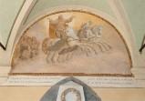 Ademollo L. (1833), Dipinto murale di San Francesco sul carro di fuoco