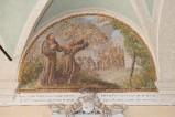 Ademollo L. (1833), Dipinto murale di San Francesco che mette in fuga i demoni