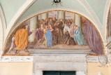 Ademollo L. (1833), Dipinto murale di San Francesco e Santa Chiara