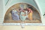Ademollo L. (1833), Dipinto murale della Nascita di San Francesco d'Assisi