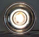 Bottega toscana sec. XIX, Bacile in metallo argentato