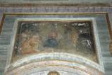 Kuntze T. sec. XVIII, Dipinto murale con l'Adorazione dei pastori