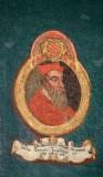 Ambito laziale sec. XVIII-XIX, Dipinto con cardinale Nicola