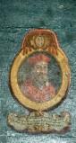 Ambito laziale sec. XVIII-XIX, Dipinto con cardinale Ugo