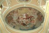 Alerii A. sec. XVII, Dipinto con San Carlo Borromeo in gloria