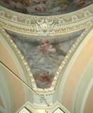 Alerii A. sec. XVII, Dipinto con Papa Nicola IV