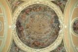 Alerii A. sec. XVII, Dipinto con gloria dell'ordine francescano