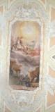 Alerii A. sec. XVII, Dipinto con San Francesco che appare su un carro di fuoco