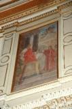Galimberti S. (1917), Dipinto con Sant'Agapito e l'imperatore Aureliano