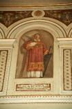 Galimberti S. sec. XX, Dipinto murale con San Lorenzo