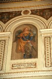 Galimberti S. sec. XX, Dipinto murale con San Michele arcangelo