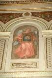 Galimberti S. sec. XX, Dipinto murale con angelo