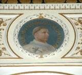 Galimberti S. sec. XX, Dipinto murale con cardinale Guglielmo Mandagato