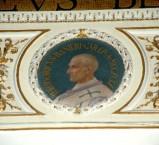Galimberti S. sec. XX, Dipinto murale con cardinale Teodorico Ranieri