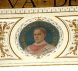 Galimberti S. sec. XX, Dipinto murale con cardinale Berardo Calliensis