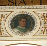 Galimberti S. sec. XX, Dipinto murale con cardinale Erardo De Lisigni
