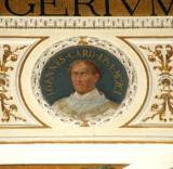 Galimberti S. sec. XX, Dipinto murale con cardinale Giovanni