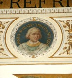 Galimberti S. sec. XX, Dipinto murale con cardinale Paolo Scolari