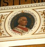 Galimberti S. sec. XX, Dipinto murale con cardinale Stefano De Chalon