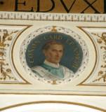 Galimberti S. sec. XX, Dipinto murale con cardinale Conon