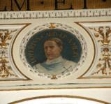 Galimberti S. sec. XX, Dipinto murale con cardinale Loperto
