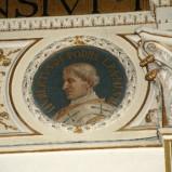 Galimberti S. sec. XX, Dipinto murale con cardinale Uberto de Podiis