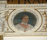Galimberti S. sec. XX, Dipinto murale con cardinale Giovanni I