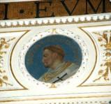 Galimberti S. sec. XX, Dipinto murale con cardinale Sergio