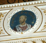 Galimberti S. sec. XX, Dipinto murale con cardinale Mauro