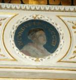 Galimberti S. sec. XX, Dipinto murale con cardinale Iucundus