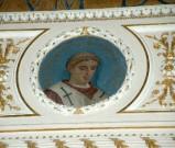 Galimberti S. sec. XX, Dipinto murale con cardinale Stephanus