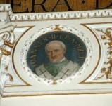 Galimberti S. sec. XX, Dipinto murale con cardinale Giovanni II