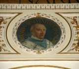 Galimberti S. sec. XX, Dipinto murale con cardinale Berardo