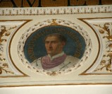 Galimberti S. sec. XX, Dipinto murale con cardinale Uberto Delle Caminate