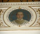 Galimberti S. sec. XX, Dipinto murale con cardinale Bernardo