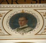 Galimberti S. sec. XX, Dipinto murale con cardinale Corrado