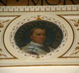 Galimberti S. sec. XX, Dipinto murale con cardinale Guglielmo