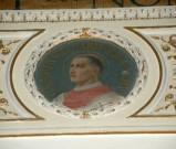 Galimberti S. sec. XX, Dipinto murale con cardinale Guarino